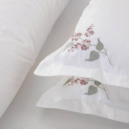 Allyssum Nevresim Seti Beyaz 200x220 - Thumbnail