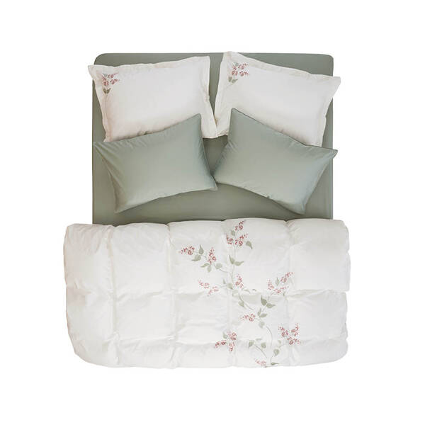 Allyssum Nevresim Seti Beyaz 240x220