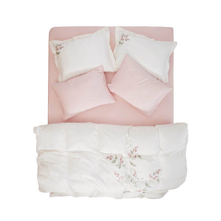 Allyssum Nevresim Seti Beyaz 240x220 - Thumbnail