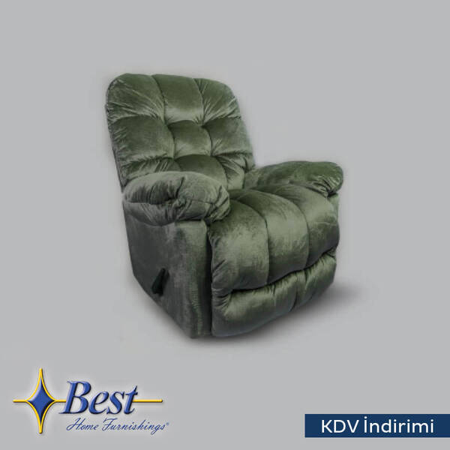 TV Koltuğu - Recliner - Brosmer Koltuk Yeşil