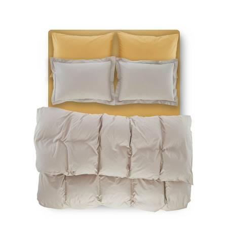 Catrine Percale Easy Care Nevresim Seti Açık Gri 160x220 - Thumbnail