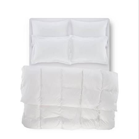 CATRINE PERCALE - Catrine Percale Easy Care Nevresim Seti Beyaz 160x220