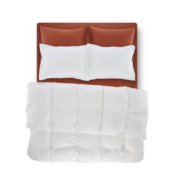 Catrine Percale Easy Care Nevresim Seti Beyaz 160x220