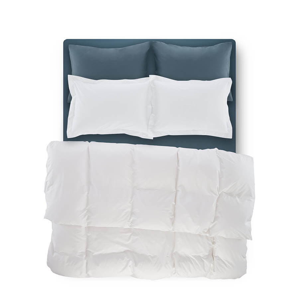 Catrine Percale Easy Care Nevresim Seti Beyaz 200x220