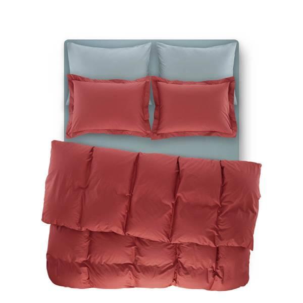 Catrine Percale Easy Care Nevresim Seti Mercan 160x220