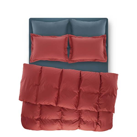 Catrine Percale Easy Care Nevresim Seti Mercan 220x240 - Thumbnail