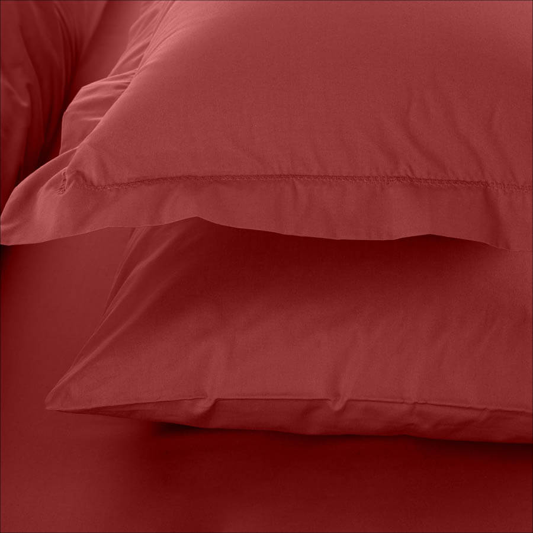 Catrine Percale Easy Care Nevresim Seti Mercan 240x260
