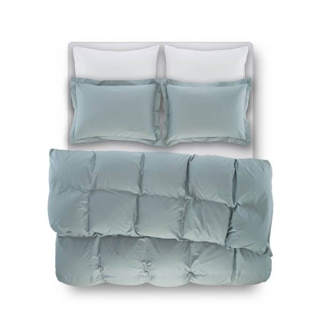 Catrine Percale Easy Care Nevresim Seti Yeşil 200x220 - Thumbnail