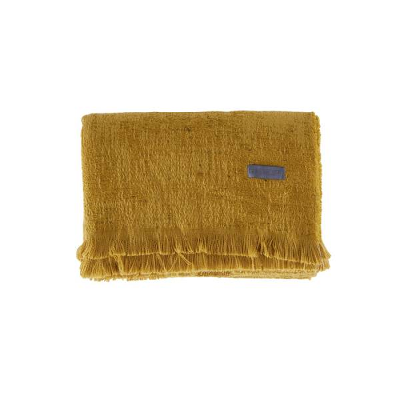 Greta Throw Battaniye 140x190 Yağ Yeşili - Thumbnail