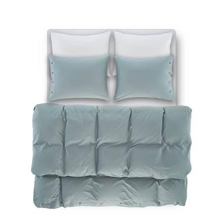 Laura Percale Easy Care Lastikli Çarşaf Seti Beyaz 100X200+35 - Thumbnail