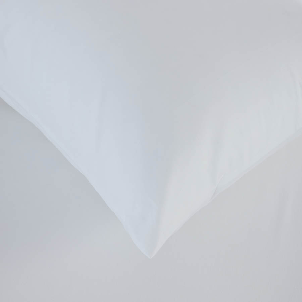 Laura Percale Easy Care Lastikli Çarşaf Seti Beyaz 160X200+35