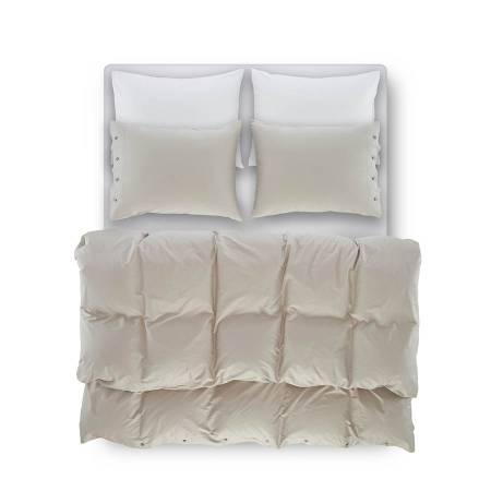 Laura Percale Easy Care Lastikli Çarşaf Seti Beyaz 160X200+35 - Thumbnail