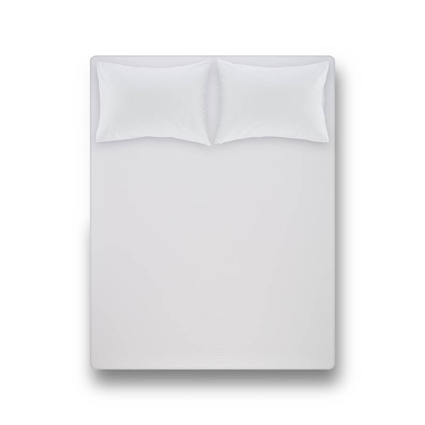 Laura Percale Easy Care Lastikli Çarşaf Seti Beyaz 180X200+35
