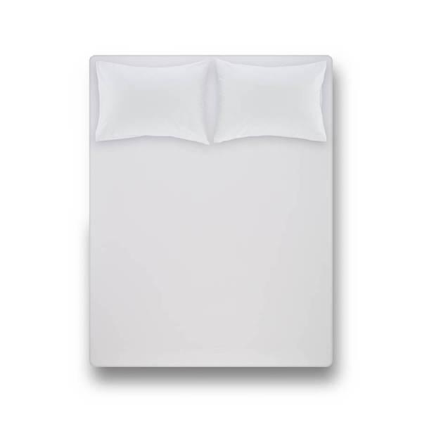 Laura Percale Easy Care Lastikli Çarşaf Seti Beyaz 200X200+35