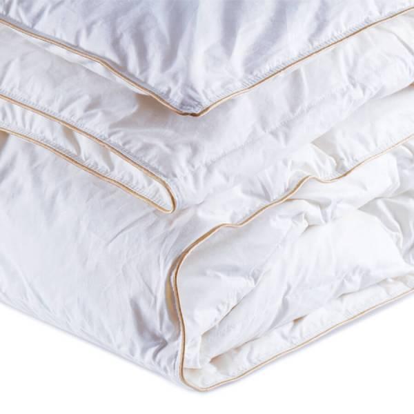Lisa Kaz Tüyü Yorgan ve Yastık Set Çift Kişilik
