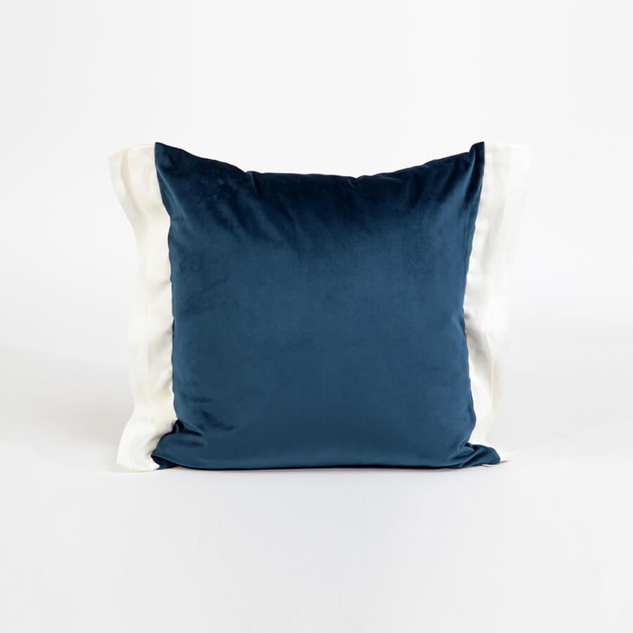 Luna Dekoratif Yastık Kılıfı Lacivert 45x45