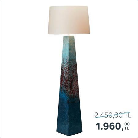 Sadece Mağazalarımızda Satılmaktadır - Occean Sunset Lambader 25x25x141