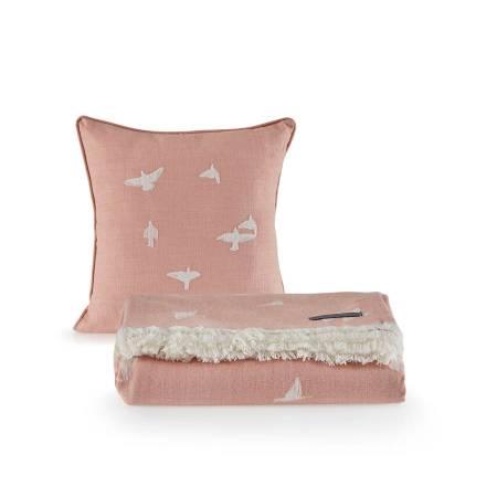 PENELOPE BEDROOM - Penelope Bird Tek Kişilik Pike Seti 160x240