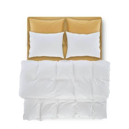 Serena Percale Easy Care Nevresim Seti Beyaz 200x220 - Thumbnail