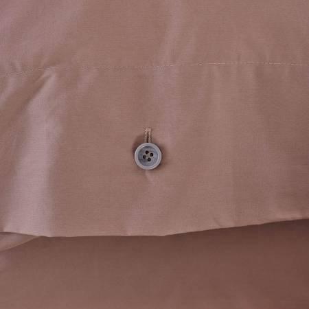 Serena Percale Easy Care Nevresim Seti Gül Kurusu 160x220 - Thumbnail