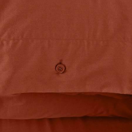 Serena Percale Easy Care Nevresim Seti Kiremit 160x220 - Thumbnail