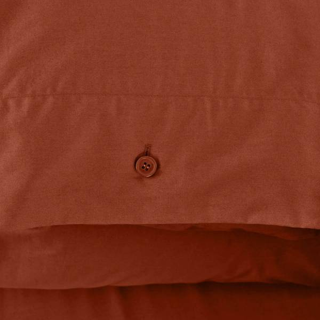 Serena Percale Easy Care Nevresim Seti Kiremit 200x220 - Thumbnail