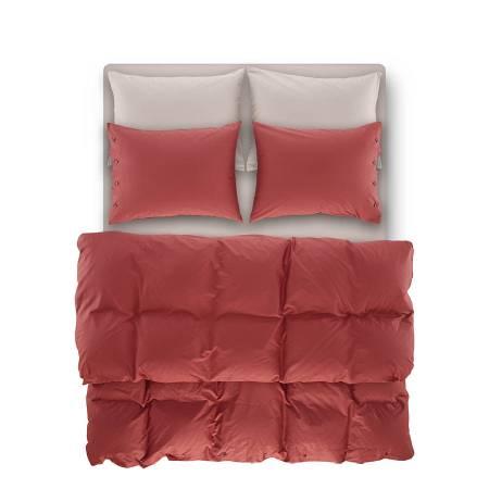 Serena Percale Easy Care Nevresim Seti Mercan 160x220 - Thumbnail
