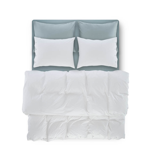 Serena Percale Easy Care Nevresim Seti Beyaz 220x240