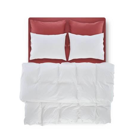 Serena Percale Easy Care Nevresim Seti Beyaz 220x240 - Thumbnail