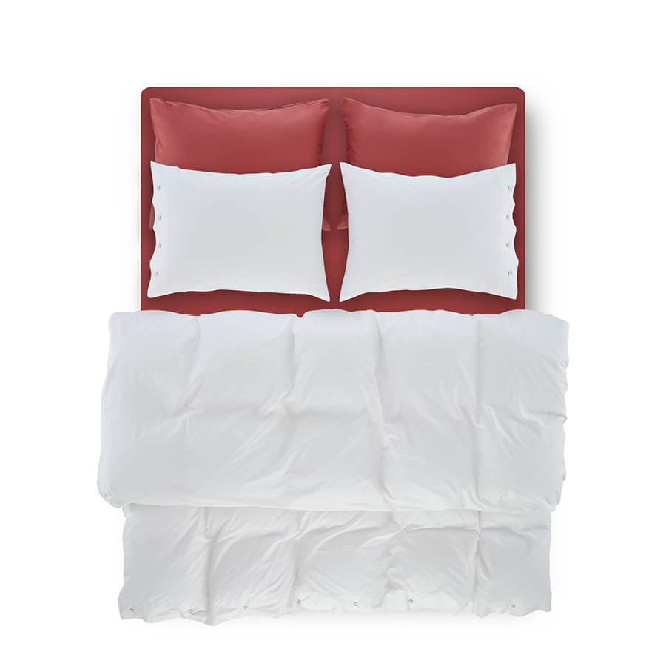 Serena Percale Easy Care Nevresim Seti Beyaz 240x260