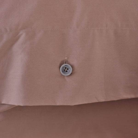 Serena Percale Easy Care Nevresim Seti Gül Kurusu 220x240 - Thumbnail