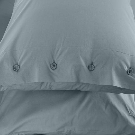 Serena Percale Easy Care Nevresim Seti Yeşil 200x220 - Thumbnail