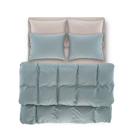 Serena Percale Easy Care Nevresim Seti Yeşil 220x240 - Thumbnail