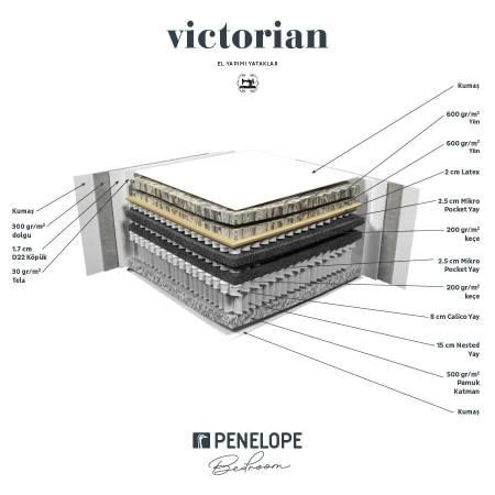 New Victorian Yatak 160x200 - Thumbnail
