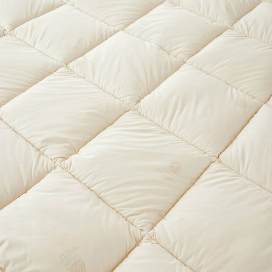 Wooly Pure Topper 160x200